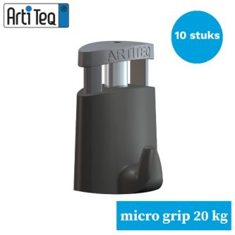 schilderijhaak-ophanghaak schilderij-schilderij ophanghaak- schilderijhaak-Artiteq Micro grip 2 mm- 10stuks van 20 kg-9.6852S