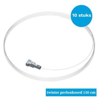 Artiteq twister met perlonkoord 10x 150 cm 9.6840SA