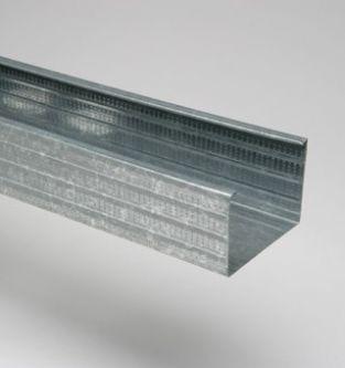 MSV 75 4000 mm verticaal metalstudprofiel